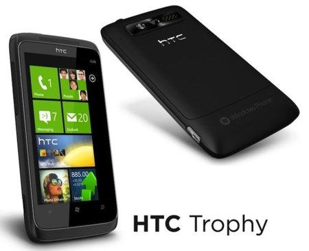 HTC 7 Trophy con Windows Phone 7, en octubre con Vodafone