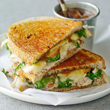 Turkey Brie Sandwiches 0110 L