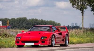 Si tienes unos 800.000 euros, el Ferrari F40 que perteneció a Nigel Mansell puede ser tuyo