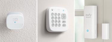 El kit de seguridad eufy Security Smart Home con base y sensores está más barato que nunca en Amazon: solo hoy a 143,99 euros