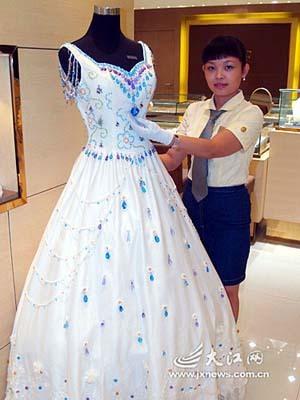 Gemas para el traje de novia