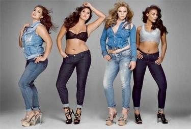 The Size Issue en V Magazine: las curvas están de moda
