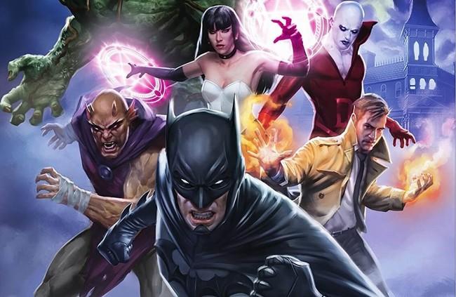 Cartel La Liga De La Justicia Oscura
