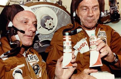 Así se prepara un astronauta la comida