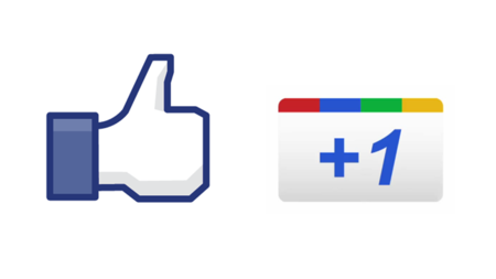 Google y el Like de Facebook.