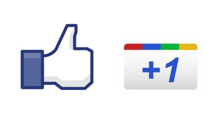 Google y el Like de Facebook.