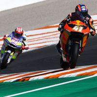 Brad Binder va a por el subcampeonato de Moto2 consiguiendo el mejor tiempo en los FP2 de Valencia