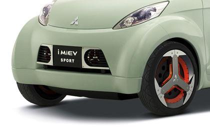 Mitsubishi i MiEV Sport (detalle)