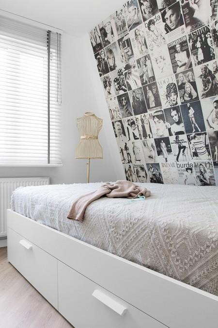 dormitorio apartamento pastel