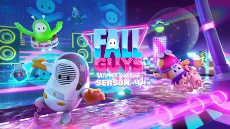 Fall Guys y su Temporada 4 ambientada en el futuro contará con siete pruebas nuevas. Aquí tienes un adelanto de una de ellas