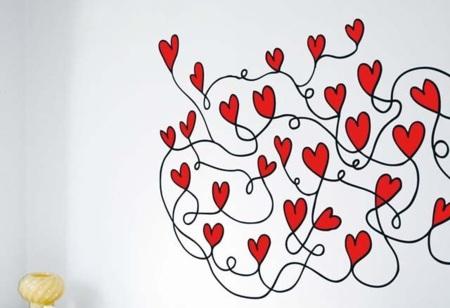 San Valentín: vinilos decorativos muy románticos
