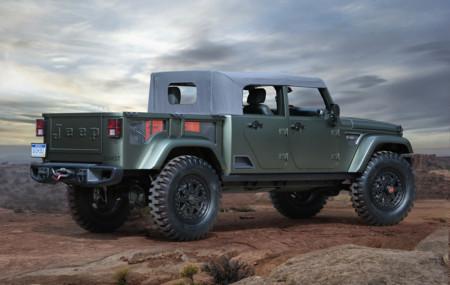 Jeep Crew Chief 715 Concept trasera
