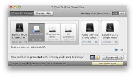 Disk Drill recupera tus archivos en Mac