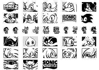 Sonic y su propia fuente TrueType