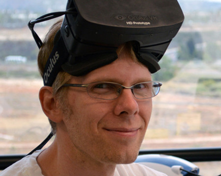 John Carmack ficha por Oculus Rift