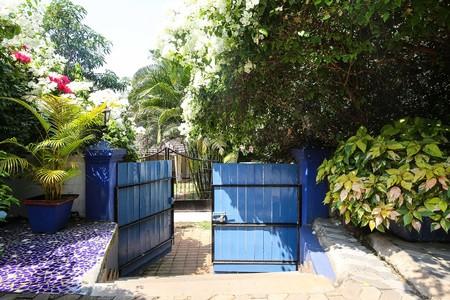 Airbnb Classic Blue Villa Campestre En Siolim India