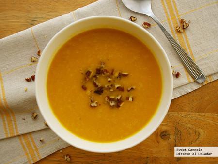 Sopa Manzana Zanahoria