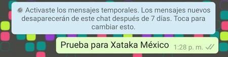 Que Son Mensajes Temporales Whatsapp