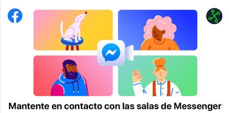 'Messenger Rooms' ya está en México: probamos las nuevas 'salas' de videollamadas que unirán a Facebook, Instagram y WhatsApp