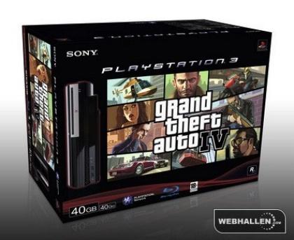 Rumor: pack de PS3 con 'GTA IV' para Europa