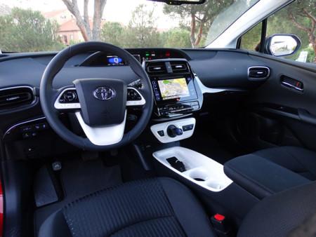 Prueba Toyota Prius 2016 Interiores
