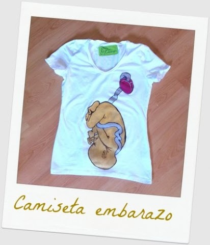 La original camiseta de embarazo de Emocionart
