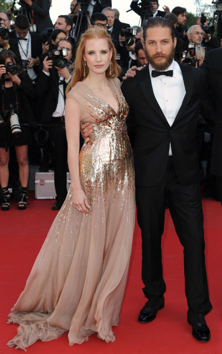 Jessica mejor vestidas Festival Cannes