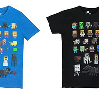 Camiseta para niño de Minecraft  desde 6 euros. Todas las tallas disponibles en Amazon