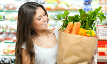 ¿Dieta vegetariana para bajar de peso?