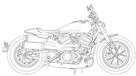 Harley Davidson Patent 3