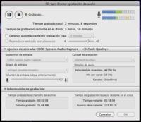 Captura audio en streaming con CD Spin Doctor