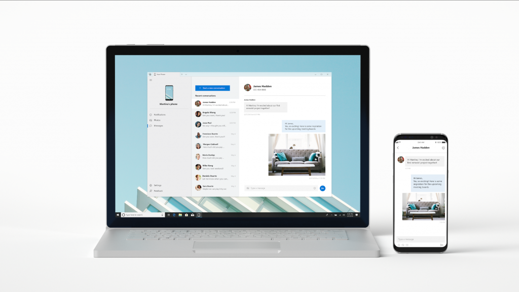 Your Phone podría recibir aproximadamente dos nuevas características para integrar todavía más el terminal en el PC
