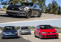 North American Car of the Year: Cuando el Volkswagen Golf vence al Mustang en su tierra