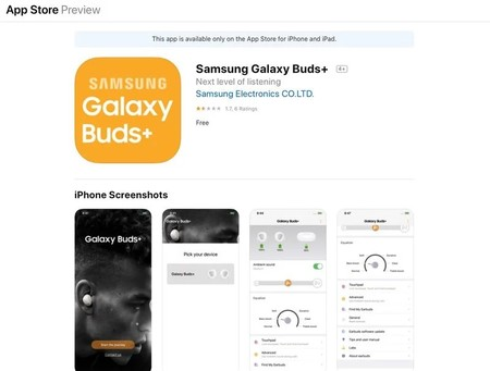 Galaxy Buds App