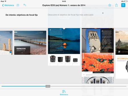 Explore EOS iPad