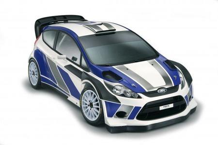 Ford nos muestra la apariencia final del Fiesta RS WRC