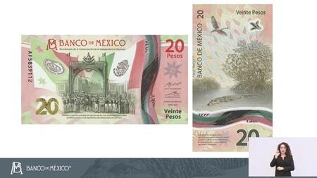 El Nuevo Billete De 20 Pesos Es Oficial Tiene Alusiones A La Consumacion De La Independencia A Manglares Y Al Cocodrilo Mexicano