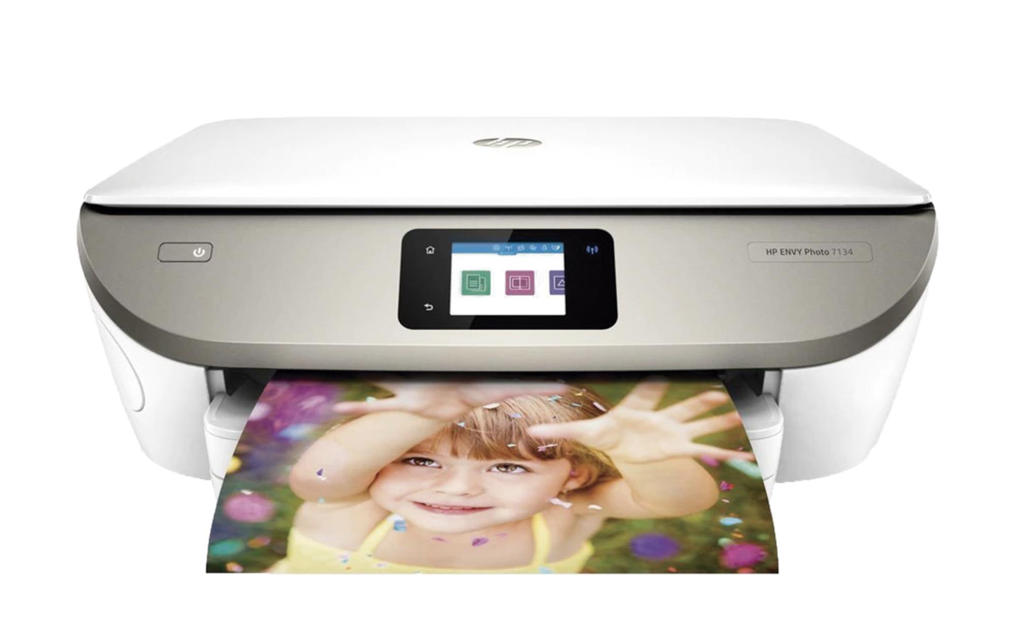 Impresora Mutltifunción Tinta HP Envy Photo 7134, Wi-Fi, copia, escanea, compatible con Instant Ink