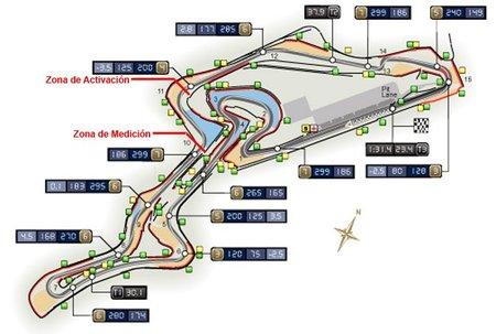 GP de Alemania F1 2011: la FIA confirma la zona DRS