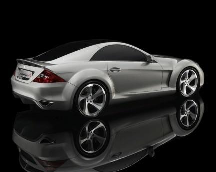 Kleemann GTK Concept, basado en el Mercedes SLK 55 AMG