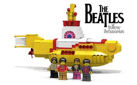 Fans de los Beatles regocijense; llega la versión Lego del Yellow Submarine
