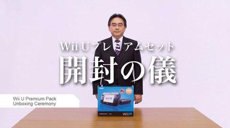 """Iwata se marca un """"unboxing"""" de Wii U con estilo y elegancia"""
