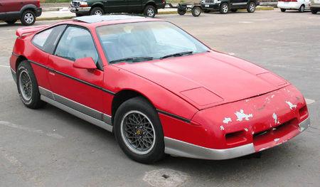 Pontiac Fiero de 1986