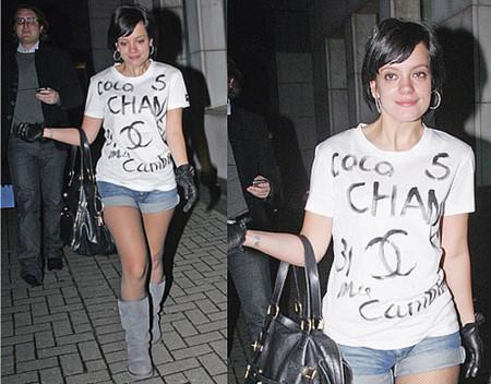 Lily Allen sigue destrozando la moda, ahora con Chanel