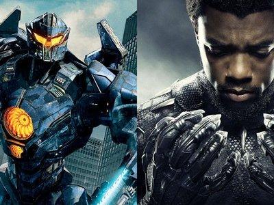 'Pacific Rim: Insurrección' domina la taquilla, 'Black Panther' ya es la película de superhéroes con mayor recaudación en EE.UU.