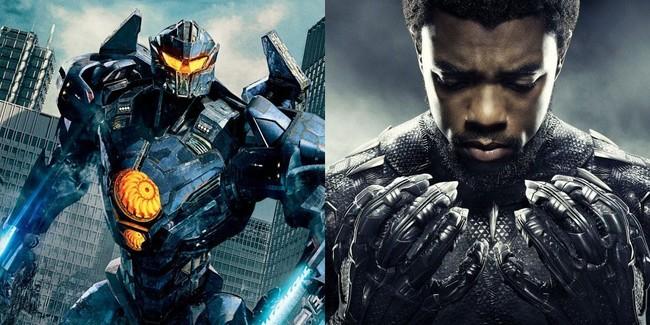 Pacific Rim 2 y Black Panther