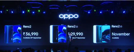 Serie Oppo Reno2