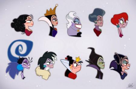 Las malas más malas de Disney