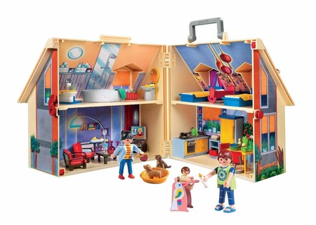 Casa De Munecas Maletin Playmobil