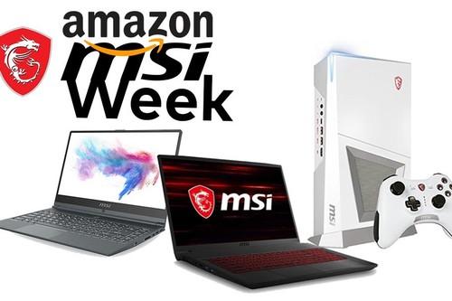 MSI Week en Amazon: portátiles y sobremesa para jugar y trabajar a precios rebajados